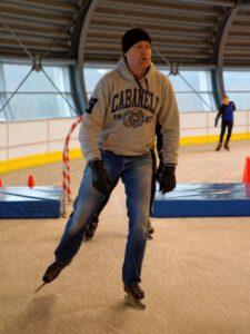 Lekker stukkie schaatsen